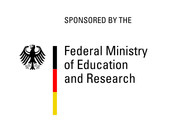 Logo BMBF: Bundesministerium für Bildung und Forschung (Federal Ministry of Education and Research)